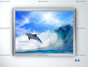 Световая панель Frame LED Framelight Classic (фреймлайт), односторонняя, формат AA, 1000х1500  мм